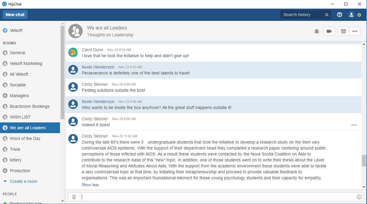 hipchat micolessons