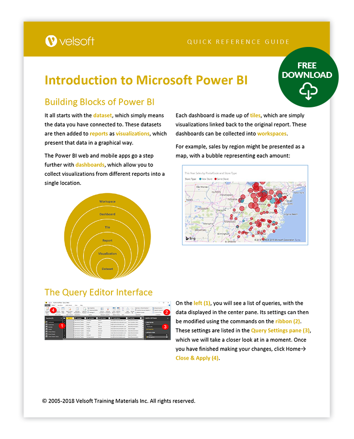 Microsoft Power BI Quick Reference Guide - Velsoft Blog