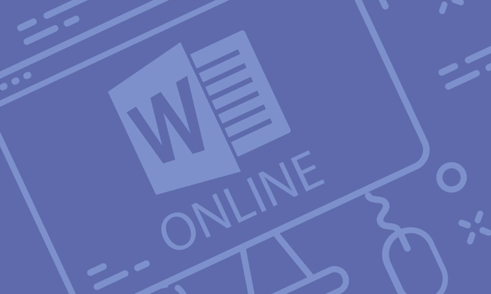 word online course cover image