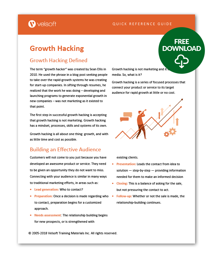 growth hacking qrg