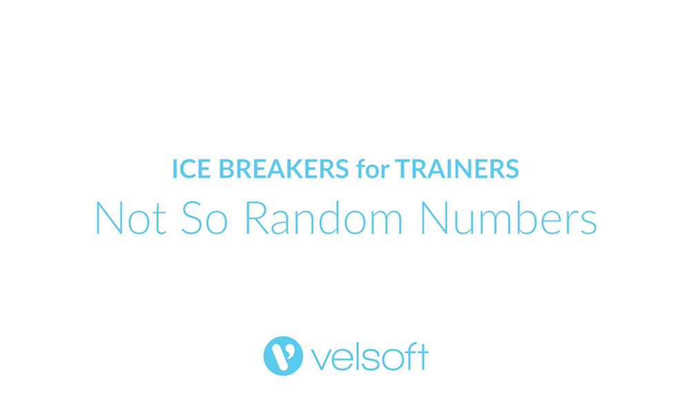 image with text that says Icebreakers for Trainers