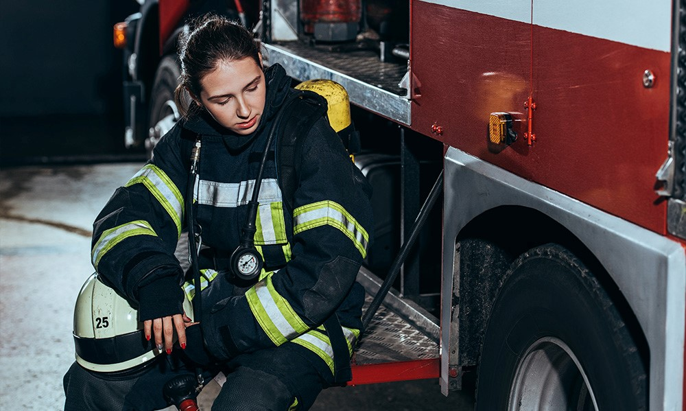 female firefighters subject to mobbing