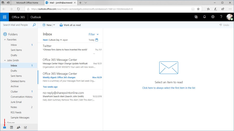 Outlook Online