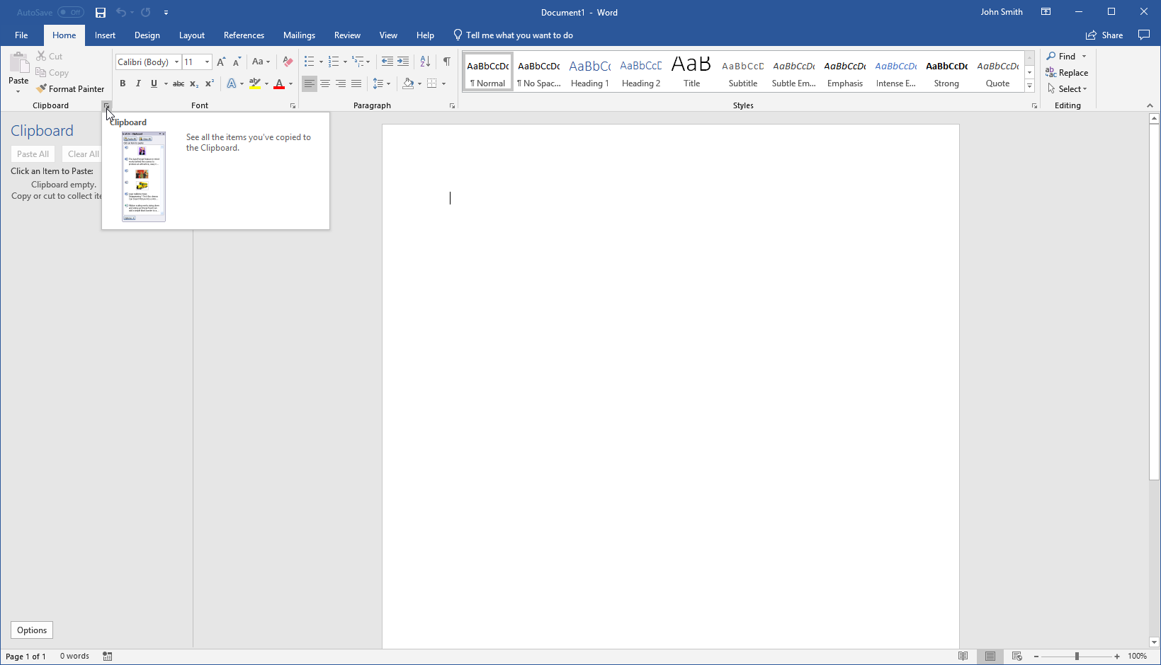 getting started with word 13