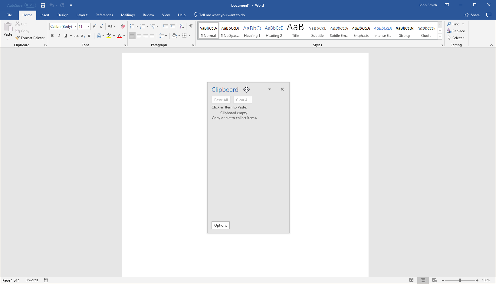 getting started with word 14