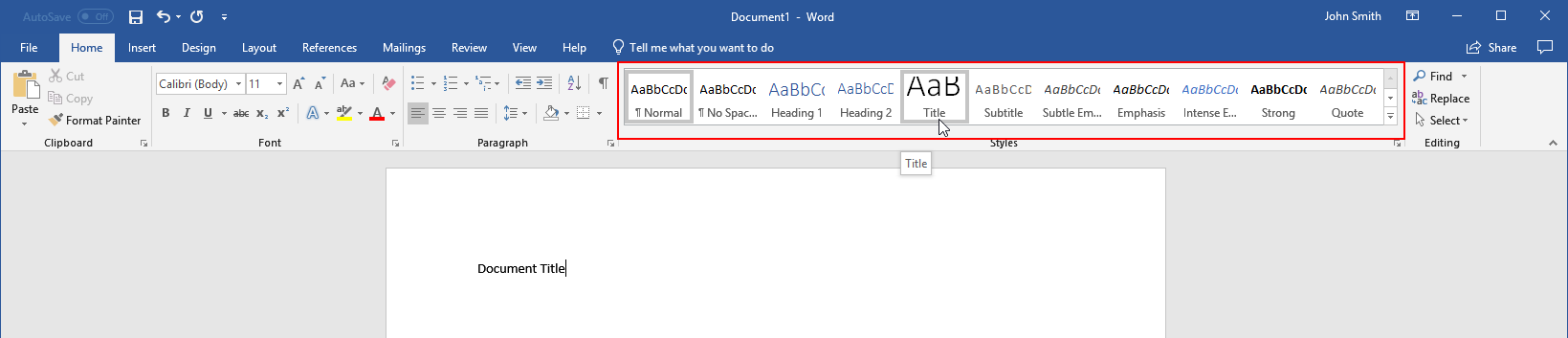 getting started with word 15