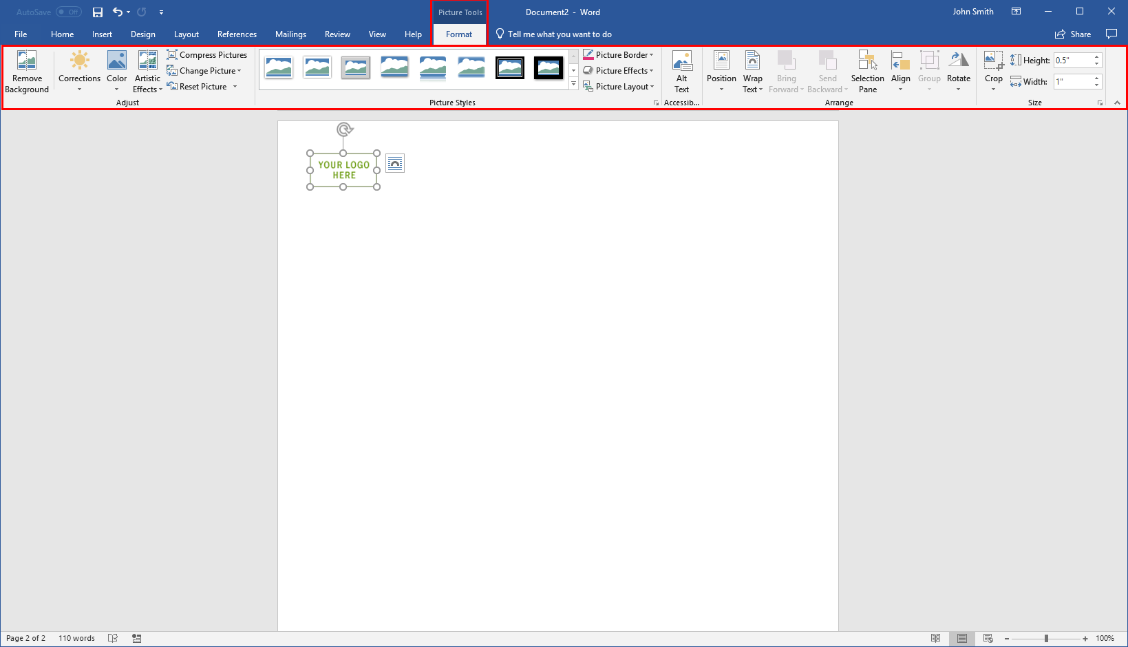 getting started with word 5