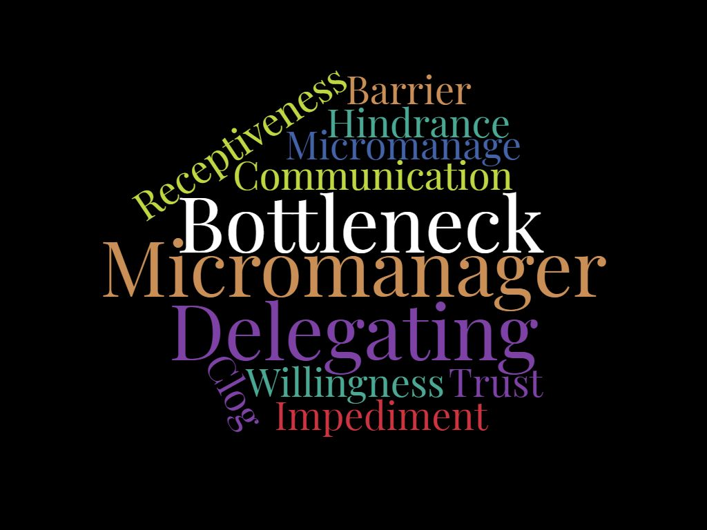 words related to delegating